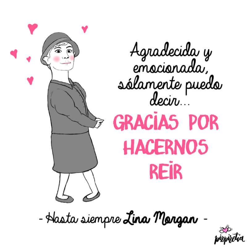 hasta siempre Lina Morgan