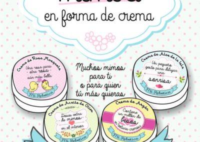 Línea de productos cosméticos diferente