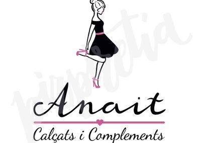 Diseño logotipo Anait