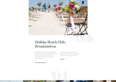 Página web para boda