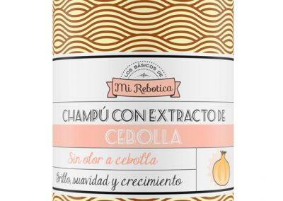 Etiqueta champú