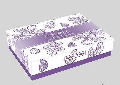 Diseño caja bombones