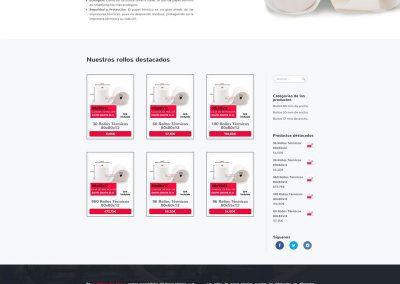 Diseño integral de tienda online: La Tienda del Rollo