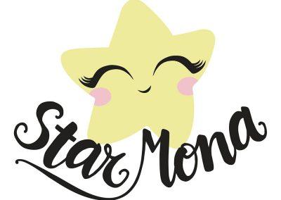 Diseño logotipo Star Mona